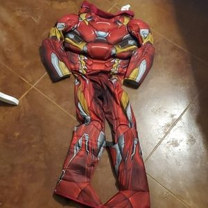 Iron man muscle costume